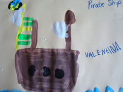 Valetina's Pirate Ship